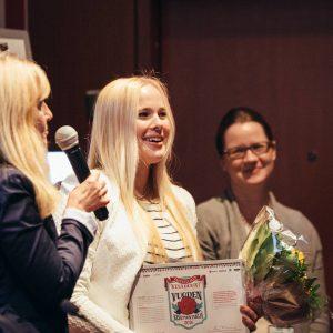 Onnittelut Vuoden kesätyöntekijälle 2016, Emma Hietaselle! ????Aurinkoinen asenne kantaa pitkälle! #VKD16 #kesätyö #kesäduuni
