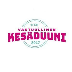 Vastuullinen kesäduuni -kampanjan tavoitteena on tulevana vuonna tarjota entistä enemmän hyviä kesätöitä ja auttaa nuoria kesätyön löytämisessä. Työnantajia autamme kehittämään kesätyöhön liittyviä prosesseja ja esittäytymään nuorille. Jos et vielä ole mukana #VKD17-kampanjassa, ilmoittaudu nyt! Linkki biossa kehittämään #kesätyö|tä ja esittäytymään nuorille. #kesäduuni