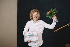 Vuoden kesätyöntekijäksi 2017 valittiin Jonne Ruopsa Destiasta. Kuva: Niko Jekkonen