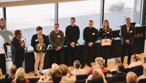 Kraton CHemical vastaanottaa Vastuullisin kesäduuni 2017 -palkinnon. Kuva: Niko Jekkonen