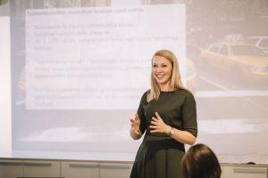 Avaa silmät osaamiselle -tapahtuma, Eeva Salmenpohja. Kuva: Niko Jekkonen